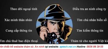Thiết Kế Website An ninh, Thám tử, Bảo vệ