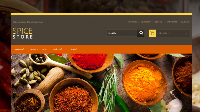 Spice store