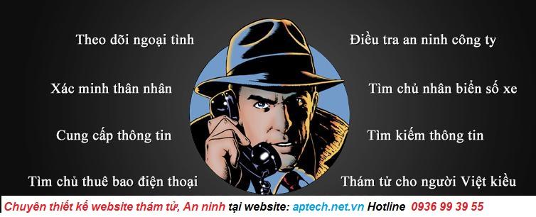 dịch vụ Thiết kế web An ninh, Thám tử, Bảo vệ tại ADC Việt Nam